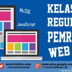 Kelas Reguler Pemrograman Web