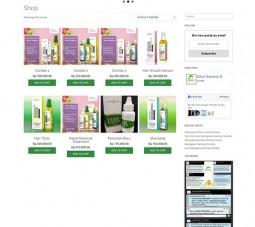 Karya Siswa Creative Media Website Green-Angelica-Herbal