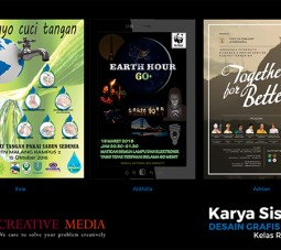Karya siswa creative media, karya siswa web creative media