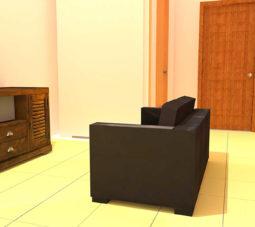 ruang tamu - Andrew