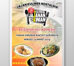 design poster makanan